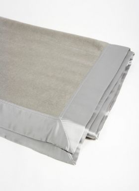 Gingerlily Silk blanket range in grey
