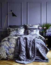 Gingerlily Tropical Night Silk Bed Linen range