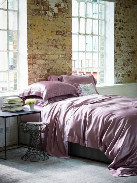 Gingerlily Silk king size duvet cover pink