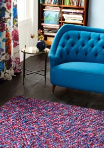 Plantation Rug Co. Beans 100% Wool Rug Range - Multi-Colour