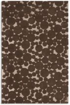 Plantation Rug Co. Bubbles rug in Chocolate 150 x 230