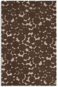 Plantation Rug Co. Bubbles chocolate rug range