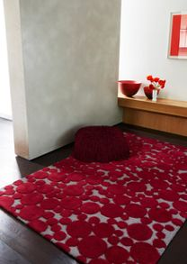 Bubbles chocolate rug range