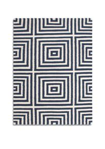 Plantation Rug Co. Frankie 100% Wool Rug Range - Navy