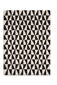 Plantation Rug Co. Geometric Black Wool Range