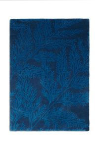 Plantation Rug Co. Leaf 100% Wool Rug Range - Blue