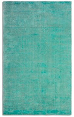 Plantation Rug Co. Oceans Wool/Viscose Rug Range - Emerald