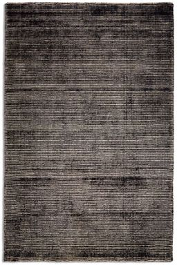 Plantation Rug Co. Oceans Wool/Viscose Rug Range - Black