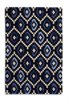 Plantation Rug Co. Origins 100% Wool Rug - 120x170 Blue Diamond