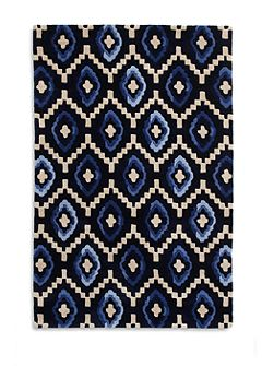 Origins 100% Wool Rug - 120x170 Blue Diamond