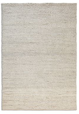 Plantation Rug Co. Rope 100% Wool Rug Range - Cream