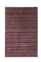 Plantation Rug Co. Seasons 100% Wool Rug - 70x240 Runner Purple