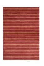Plantation Rug Co. Seasons 100% Wool Rug - 70x240 Runner Red Stripe
