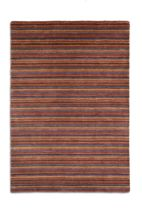 Plantation Rug Co. Seasons 100% Wool Rug - 120x170 Chocolate Stripe