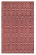 Plantation Rug Co. Serengeti 100% Wool Rug Range -Wine/Grey