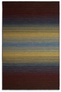 Plantation Rug Co. Undertones Rug Range - Brown/Blue