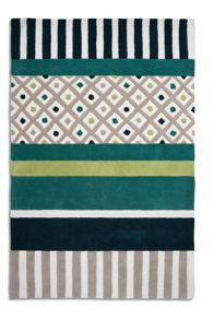 Undecided Rug in Lime/Green