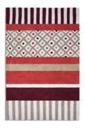 Plantation Rug Co. Undecided Rug in Maroon/Beige