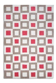 Plantation Rug Co. Cubed Rug in Pink/Beige