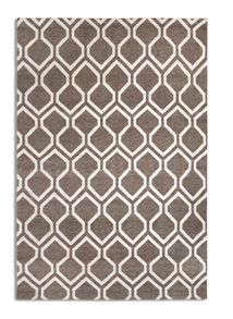 Plantation Rug Co. Medina Flat Viscose Rug Range - Brown