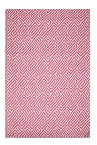 Plantation Rug Co. Maisey 100% Wool Rug - Pink