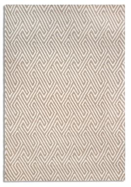 Plantation Rug Co. Maisey 100% Wool Rug Range -  Beige
