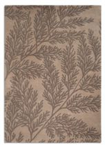 Plantation Rug Co. Leaf 100% Wool Rug - 150x230 Beige/Grey