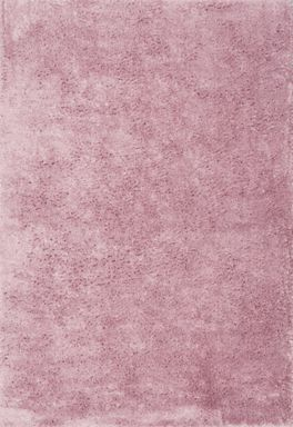 Plantation Rug Co. Footsie Ultra Soft Rug Range - Baby Pink