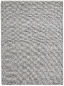 Plantation Rug Co. Loopy Silver Viscose & Wool Rug Range