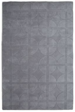 Plantation Rug Co. Universal Light Grey 100% Wool Rug Range