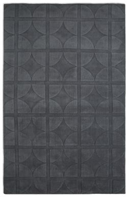 Plantation Rug Co. Universal Dark Grey 100% Wool Rug Range