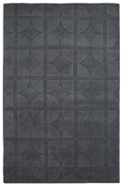 Plantation Rug Co. Universal 100% Wool Rug - 150x230 Dark Grey