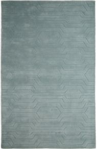 Plantation Rug Co. Circuit Mint 100% Wool Rug Range