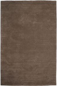 Plantation Rug Co. Circuit Brown 100% wool Rug Range