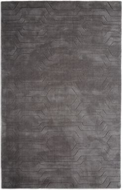 Plantation Rug Co. Circuit Slate 100% Wool Rug Range