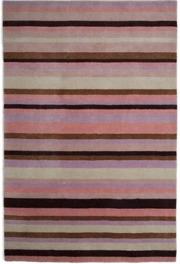 Plantation Rug Co. Ainslie Pink Loom Wool Rug Range