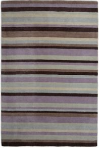 Plantation Rug Co. Ainslie Lilac Loom Wool Rug Range