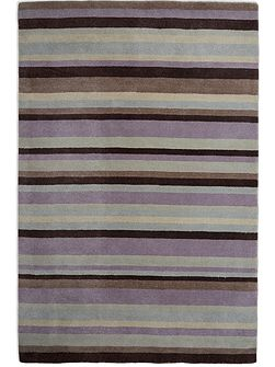 Ainslie Loom Knotted Wool Rug 150x240 Lilac
