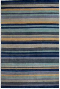 Plantation Rug Co. Ainslie Blue Loom Wool Rug Range
