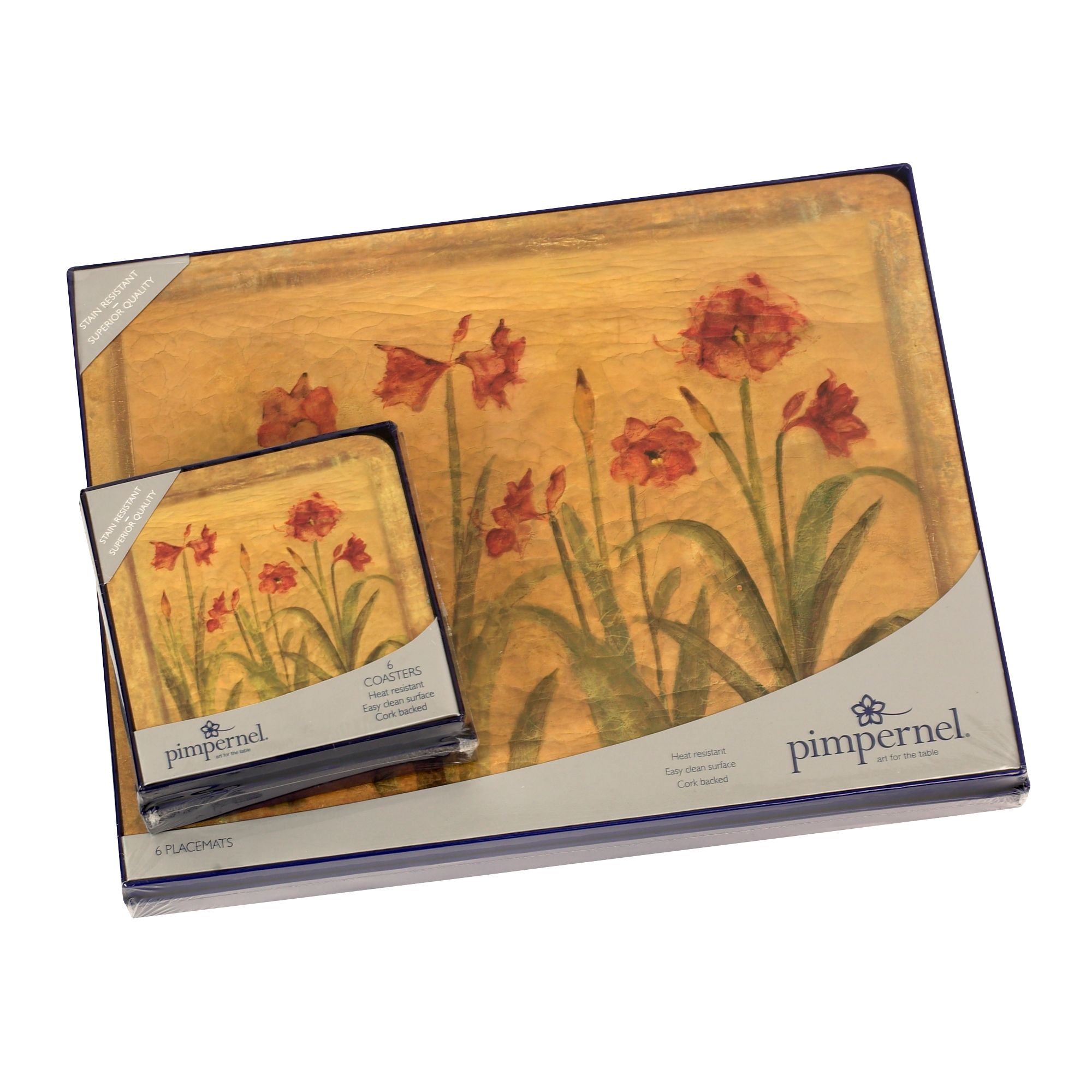 Amaryllis tablemats