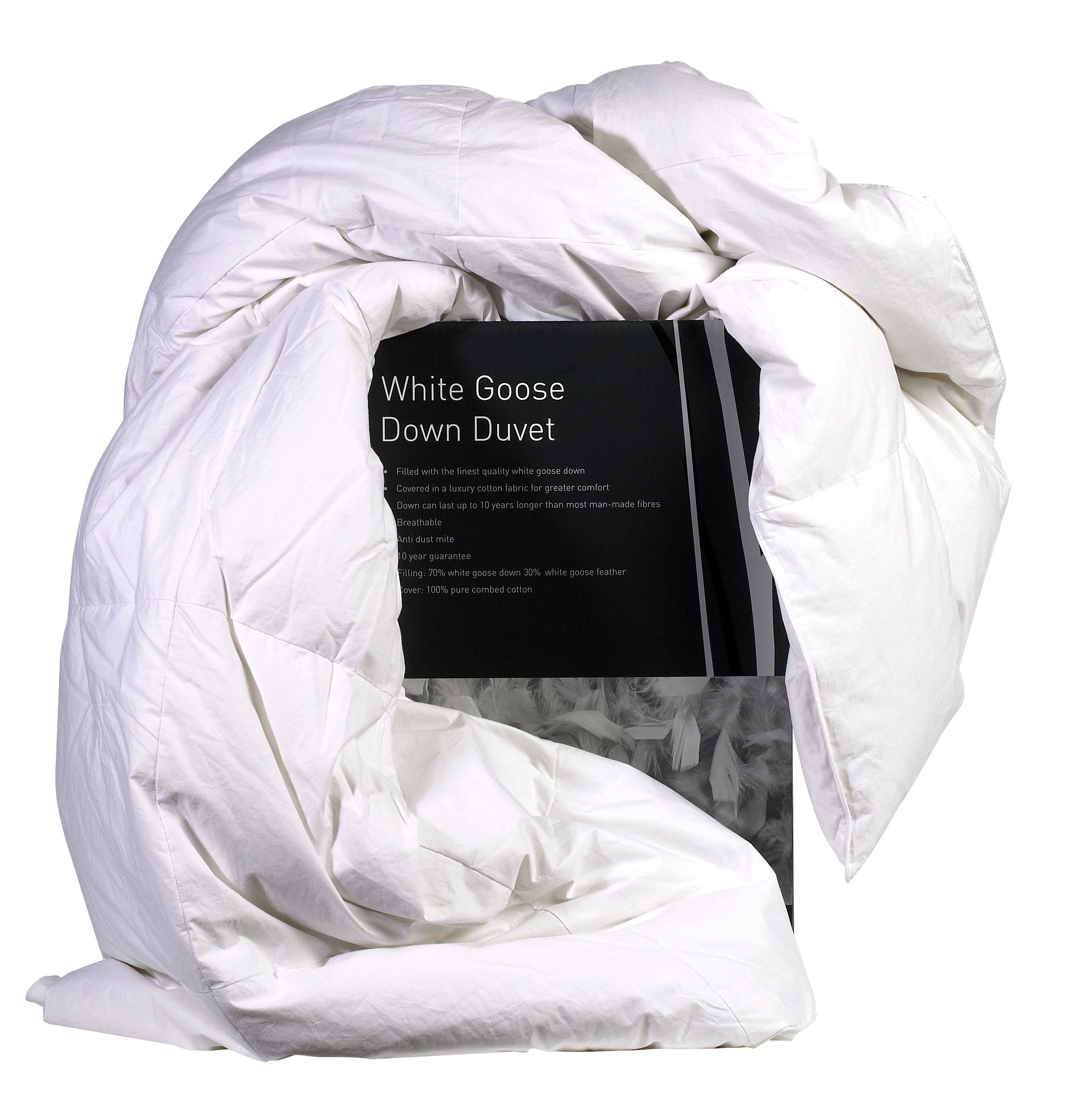 Anolon Linea Goose down single duvet 10.5 tog