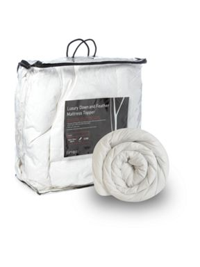 Linea Goose feather and down mattress topper