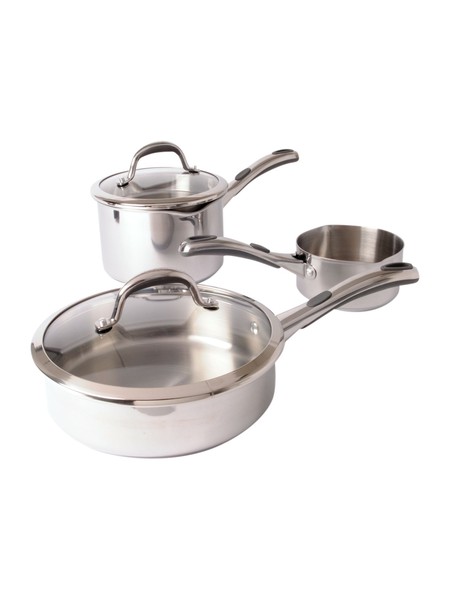 Select stainless steel pans