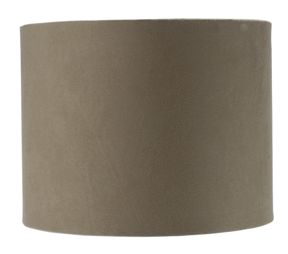 Linea Faux suede shade in Cream