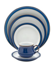 Imperial Blue stoneware