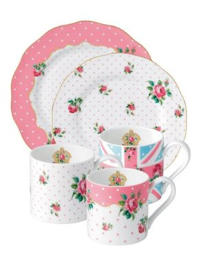 Royal Albert Cheeky Pink Dinnerware