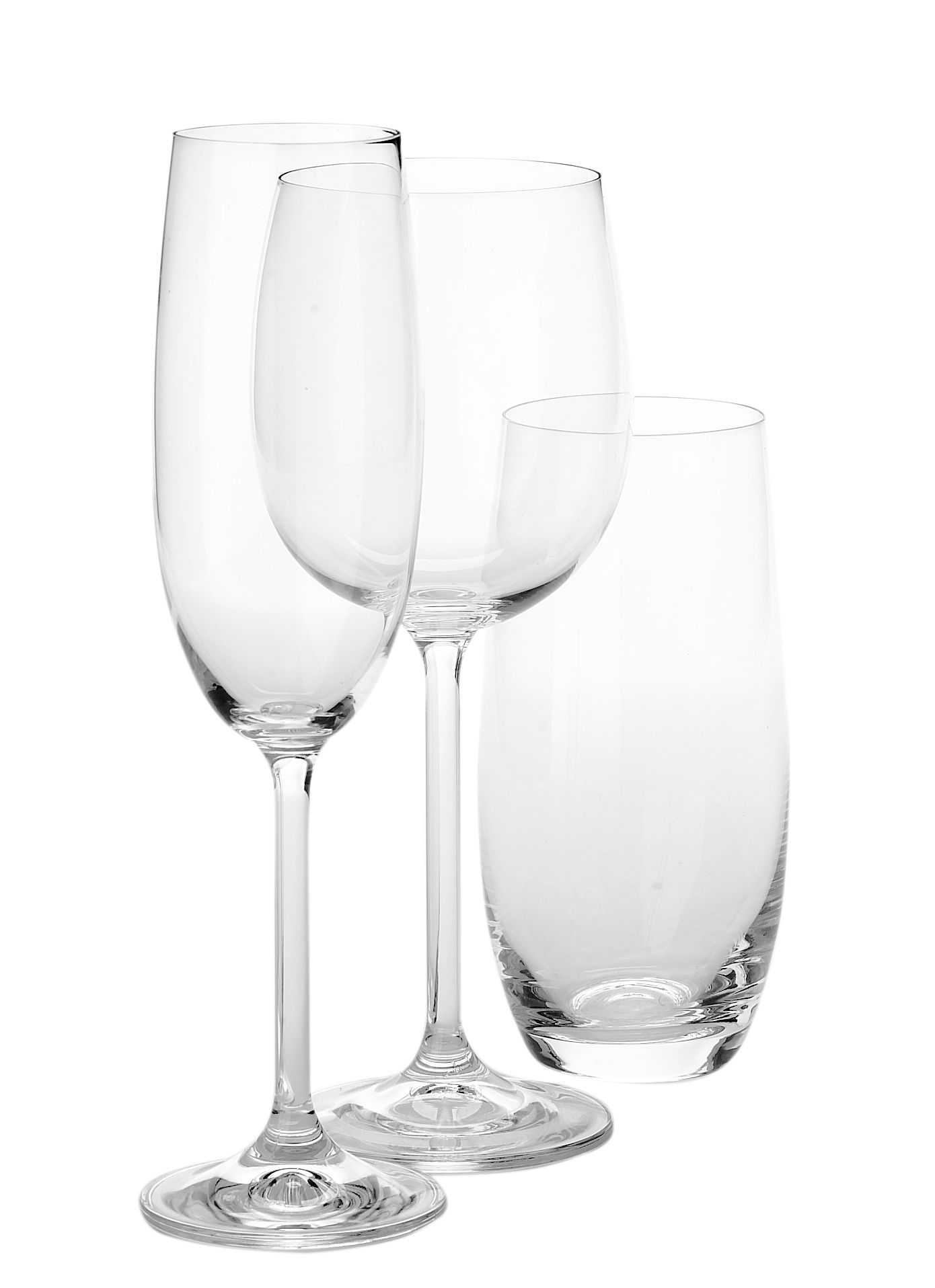 Linea 6 hi-ball glasses