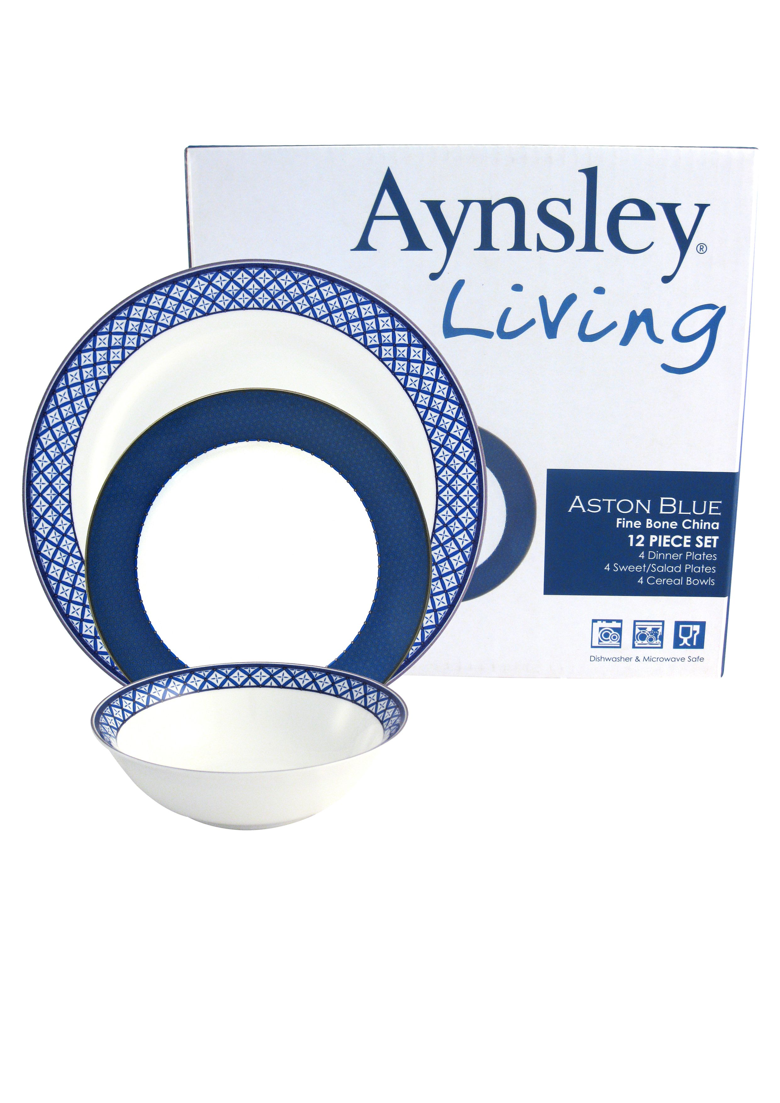 Aston Blue Dinnerware Range