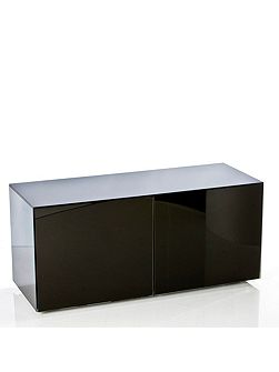 Gloss black TV cabinet - Home Assembly