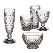 Boston diamond cut glassware range